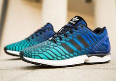 ead3c26e4e42a Adidas Originals ZX Flux XENO - Mens Flux Shock GreenBlackWhite on the  lookout for limited offer
