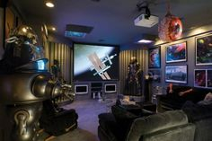 97 Best Video Game Rooms Images On Pinterest Gamer Room Game Room