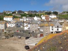 Port Isaac, Cornwall Port Isaac, Cornwall, Paris Skyline, Mansions, House Styles, Travel, Viajes, Traveling, Luxury Houses