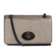 COACH HANDBAG WOMENS LEATHER SMALL CHAIN BAG~BIRTHDAY/MOTHERS DAY GIFT NWT | eBay