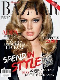 Doutzen Kroes - Harpers Bazaar Magazine [Greece] (January 2010)