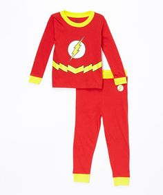 f02695071 Red The Flash Pajama Set - Infant