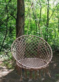 Crochê & Artesanatos: Cadeira de balanço