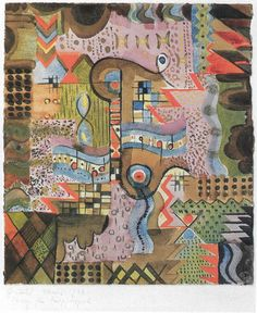 Gunta Stölzl. Design for a knotted carpet. 1920-1922. The Bauhaus-Archiv. Berlin, Germany