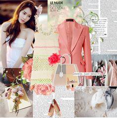 """One fine spring day~"" by rainie-minnie ❤ liked on Polyvore"