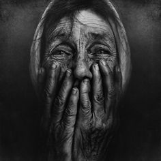 Haunting Black and White Portraits of Homeless People by Lee Jeffries