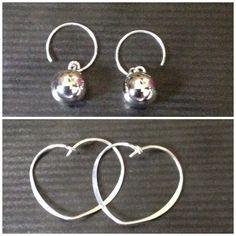 Beautiful silver earrings. Ellren jewellery. £10,00/£14.00