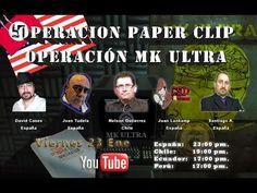 Operacion Paper Clip y Operación MK Ultra
