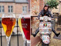 """Blau in Brügge (über belgisches Bier, eine Brauereiführung und abgefüllte Blogger-Kolleginnen) - """"Fee ist mein Name"""" http://www.feeistmeinname.de/2014/05/blau-in-brugge-uber-belgisches-bier.html"""