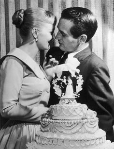"""The ceremony for the marriage of Paul Newman and Joanne Woodward on January 29, 1958: """"Happiness in marriage is not something that just happens. A good marriage must be created. In the Art of Marriage: The little things are the big things. It is never being too old to hold hands. It is remembering to say 'I love you' at least once a day... Click through to read the whole sermon."""