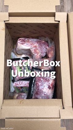 """""""It's really convenient to get this stuff from ButcherBox . it's ready to go in the freezer and I don't have to go shopping for meat!"""" At ButcherBox, we deliver grass-fed beef, organic chicken, and heritage breed pork right to your door- it's quite pos Beef Recipes, Soup Recipes, Chicken Recipes, Dinner Recipes, Cooking Recipes, Healthy Recipes, Healthy Food, Kraft Recipes, Cake Recipes"""
