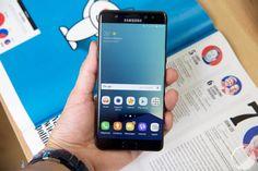 Samsung Galaxy Note 7S : un indicateur de batterie directement reconnaissable - http://www.frandroid.com/marques/samsung/377557_samsung-galaxy-note-7s-aura-indicateur-de-batterie-vert  #Samsung, #Smartphones