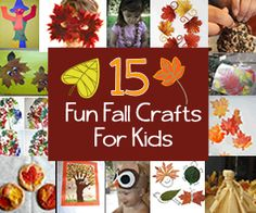 15 Fun Fall Crafts to Make With Toddlers