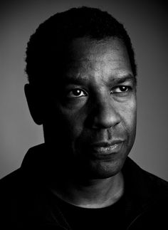 Denzel Washington (1954) - American actor, film director and film producer. Photo by  Michael Muller