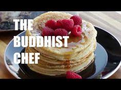 Vegan Pancakes - The Buddhist Chef