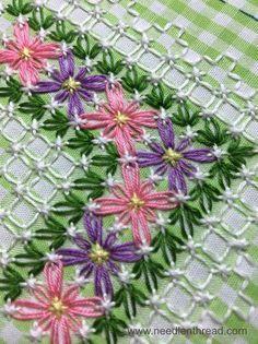 Risultato immagine per Chicken Scratch Embroidery Patterns for baby