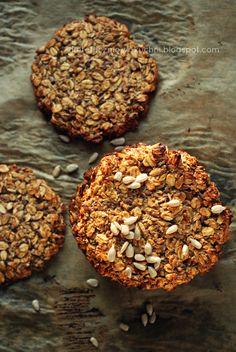 ciastka owsiane bez mąki i cukru
