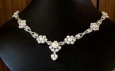 Daisy Eyelet Necklace