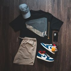 outfit grid Image may contain: shoes Dope Outfits For Guys, Swag Outfits Men, Style Outfits, Stylish Mens Outfits, Mode Outfits, Casual Outfits, Hype Clothing, Mens Clothing Styles, Outfit Grid