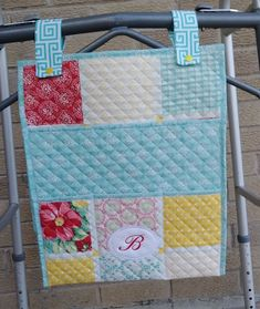 Walker Caddy Walker Bag Walker Tote - Wheelchair Bag FREE Personalization Fabric Choices Washable - Nursing Home - Assisted Living Caddy Bag, Tote Bag, Free Monogram, Christmas Delivery, Coordinating Fabrics, Bag Making, Bag Accessories, Great Gifts, Placemat
