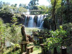 Mena Falls and Paronella Park north Queensland