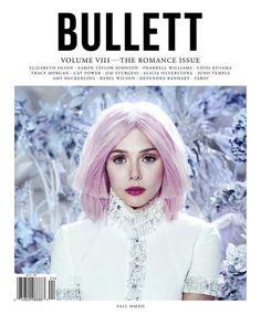 Bullett Fall 2012  Elizabeth Olsen photographed by Jeff Bark.   Photo courtesy of Bullett magazine.