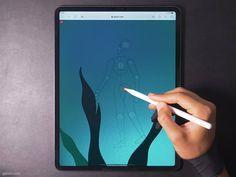 Digital Painting Tutorials, Digital Art Tutorial, Art Tutorials, Laptop Drawing, Blue Wallpaper Iphone, Tech Art, Passion Planner, Ipad Art, Disney Fan Art