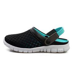 6f23077595db Fashion Big Size 36-46 Men s Summer Shoes Breathable Mesh Mens Slipper -  chicmaxonline