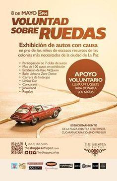 Voluntad sobre ruedas , 08-may, Plaza The Shoppes La Paz , La Paz