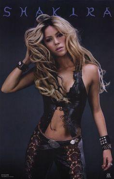Shakira 11x17 Music Poster