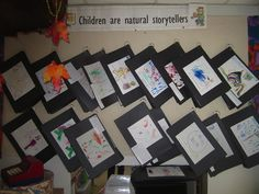 Mona has her 4 year olds work on long term book making projects that include scribble drawings with dictations. Children are indeed natural storytellers, and scribbling is how their visual story telling begins. Scribble Art, Childrens Artwork, Preschool Literacy, School Lessons, Classroom Decor, Future Classroom, Childhood Education, Book Making, Art Activities