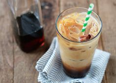 10 ways to upgrade your iced coffee! Shake it, freeze it, flavor it . so many ways to up your iced coffee game. Like this Cinnamon Dolce Iced Coffee! Iced Coffee Drinks, Coffee Drink Recipes, Iced Tea, Starbucks, Cinnamon Dolce Syrup, How To Make Ice Coffee, Homemade Syrup, Pumpkin Spice Latte, Yummy Drinks