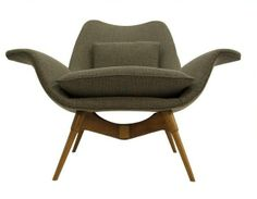 E1 Elastic Suspension Chair or 'The Eleanor' designed in 1954 by Australian designer Grant Featherston