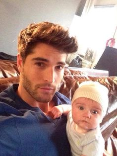 Nick Bateman hottie with a little cutie