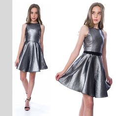 Love this Fabulous shift skater dress in gorgeous dark grey shimmer from IN STOCK NOW Skater Dress, Dark Grey, Formal Dresses, Party, Fashion, Moda, Formal Gowns, Fiesta Party, Fasion