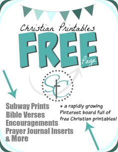Christian Printables - Free Prints Round Up | Satisfaction Through Christ