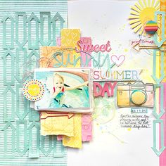 """Layout by Missy Whidden uses """"Any Which Way"""" cut file from The Cut Shoppe."""