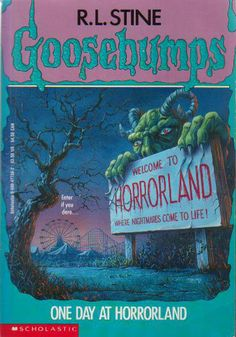 "Dude, I WROTE MY OWN Goosebumps book and read it to my Kindergarten class in 1995. It was called ""There's A Cursed Tomb Ahead!"""