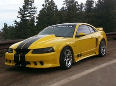 Allan's 1999 Ford Mustang Saleen with BFGoodrich g-Force T/A KDW tires on 18 inch wheels. Chevy Diesel Trucks, Ford Trucks, 4x4 Trucks, Chevrolet Trucks, Lifted Trucks, Ford Mustang Saleen, Mustang Cobra, 1957 Chevrolet, Chevrolet Impala