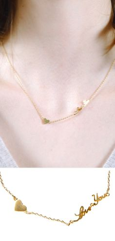 """""""Love You"""" Necklace"""
