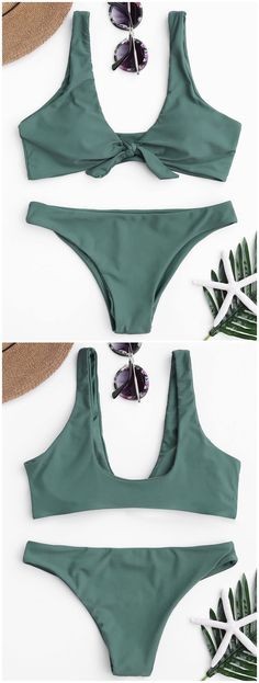 Up to 80% OFF! Knotted Scoop Bikini Top And Bottoms. #Zaful #Swimwear #Bikinis zaful,zaful outfits,zaful dresses,spring outfits,summer dresses,Valentine's Day,valentines day ideas,cute,casual,fashion,style,bathing suit,swimsuits,one pieces,swimwear,bikini set,bikini,one piece swimwear,beach outfit,swimwear cover ups,high waisted swimsuit,tankini,high cut one piece swimsuit,high waisted swimsuit,swimwear modest,swimsuit modest,cover ups,swimsuit cover up @zaful Extra 10% OFF Code:ZF2017
