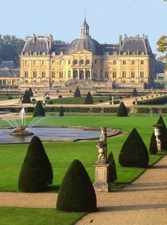 Chateau Vaux le Vicomte in France