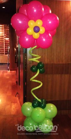 Balloon Decoration, My Deco Balloon Flowers and Spring Balloon Decorations