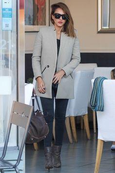 Why we love Jessica Alba - every, single, day.... Glamour Magazine UK waysify