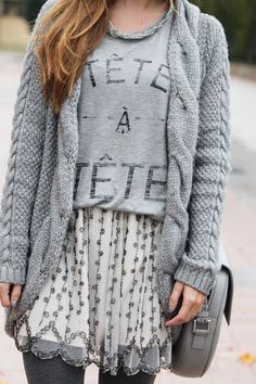 ---- Grey on grey