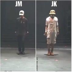 Jimin and Jungkook dancing. Jimin Jungkook, Bts Taehyung, Bts Bangtan Boy, Namjoon, Foto Bts, Bts Photo, Jikook, K Pop, Bts Memes