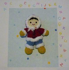 Ravelry: Amigurumi Crochet Pattern little Eskimo pattern by Akinna Stisu