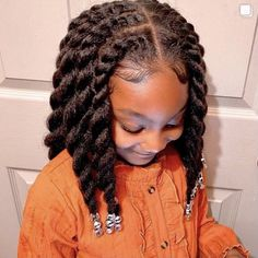 Little Girls Natural Hairstyles, Kids Curly Hairstyles, Baby Girl Hairstyles, Twist Hairstyles, Children Hairstyles, American Hairstyles, Protective Hairstyles, Hairstyle Ideas, Hair Ideas