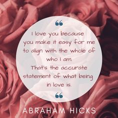 What love is | Abraham Hicks