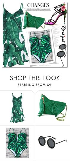 """""""Rosegal 47"""" by fattie-zara ❤ liked on Polyvore featuring Dolce&Gabbana"""